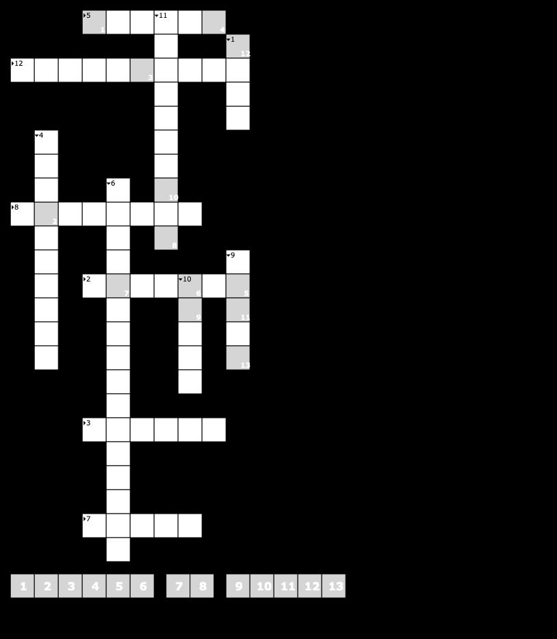 Das Bestmögliche Kreuzworträtsel